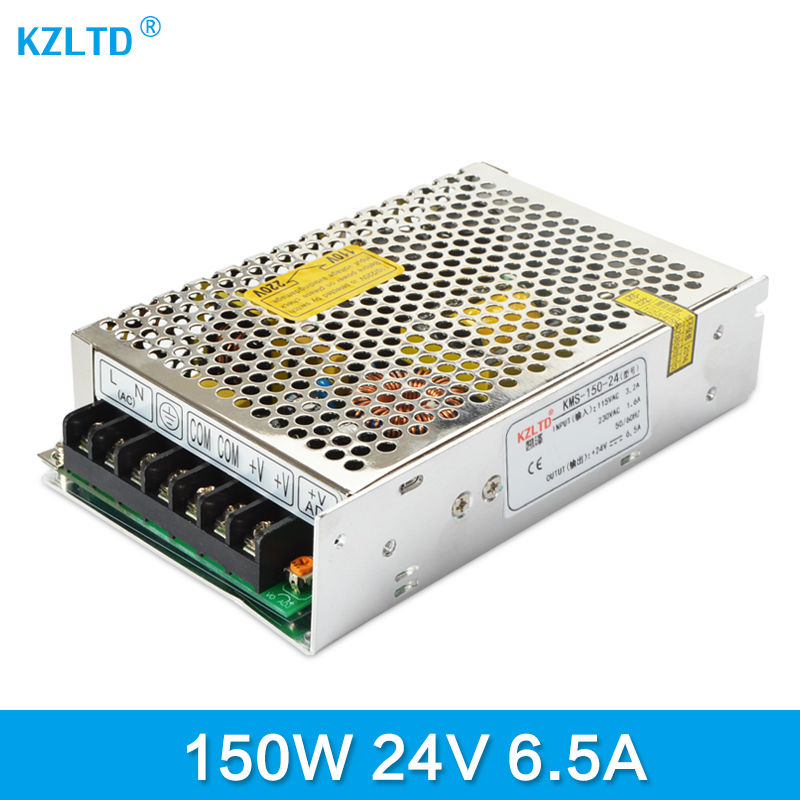 AC-DC 24V 150W Switching Power Supply 220V 110V to 24V Transformer Adjustable Power Source for LED Light LED Display Monitor led transformer 24v 60w ac dc power supply 110v 220v to 24v charger adapter for led strip led module light 3 year warranty
