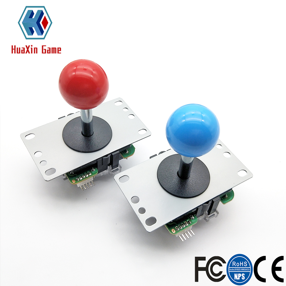 Image 2 - Zero Delay Arcade cabinet DIY kit for 5V LED chrome push button SANWA Joystick 1 & 2 player COIN button USB to PC / Raspberry PiCoin Operated Games   -