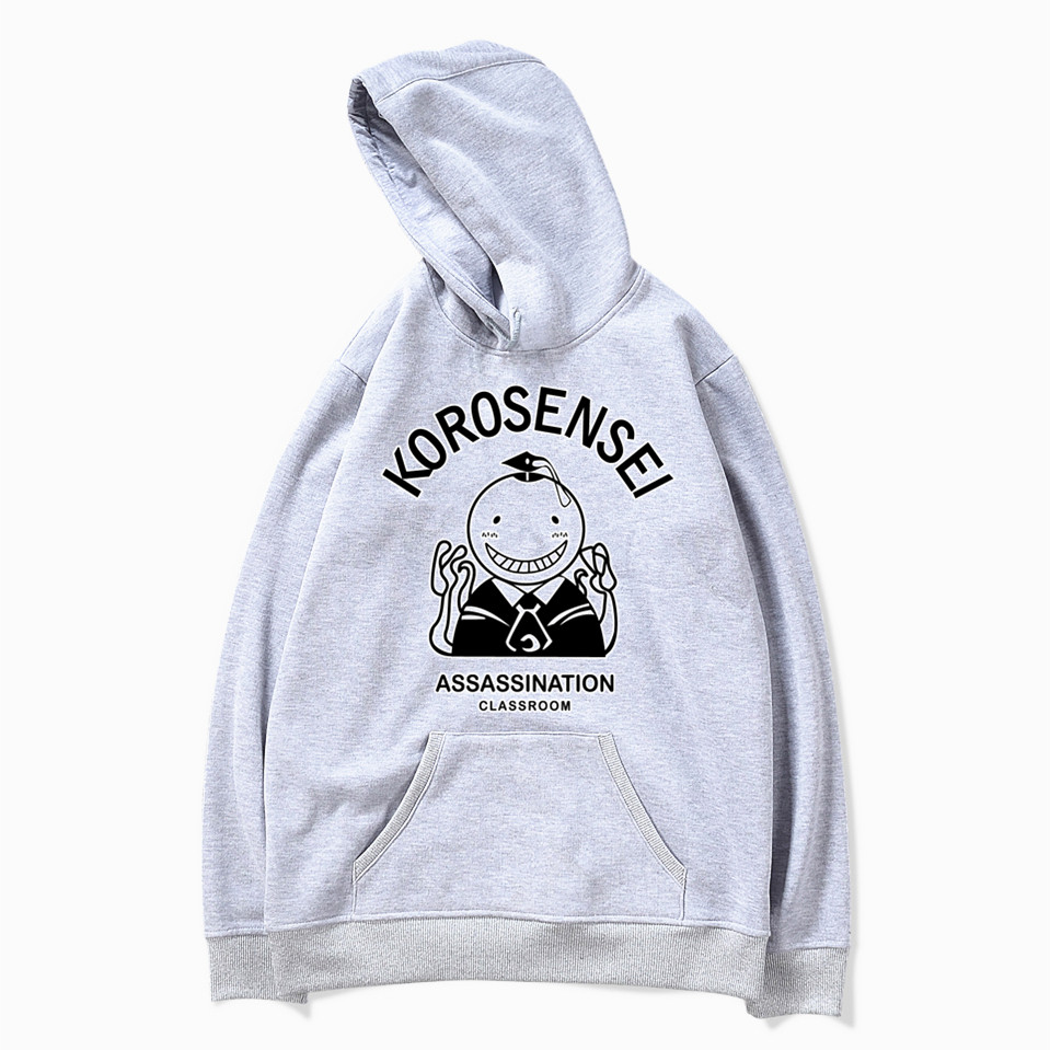 Assassination Classroom Korosensei Anime Hoodies Men And Women Autumn Casual Pullover Sweats Hoodie Fashion Sweatshirts MWT102 image