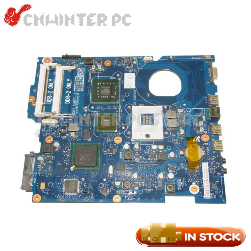 NOKOTION For Samsung R519 R719 Laptop Motherboard PM45 DDR2 GT230M Free CPU BA41-01148A BA41-01147A BA92-05857A BA92-05857B nokotion for samsung r530 laptop motherboard ba92 06346a ba92 06346b ba41 01227a pm45 gt310m ddr3