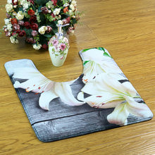 U образные коврики для ванной противоскользящие декоративные