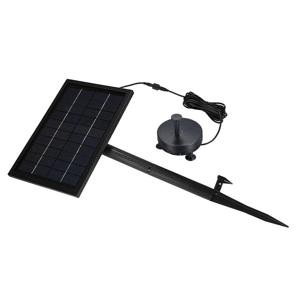 10 V 5 W Solar Powered Brushless ปั๊มน้ำในตัวเก็บแบตเตอรี่ Submersible Pump Fountain สวน 200L/H ลิฟท์ 150 ซม.-ใน ปั๊มน้ำ จาก บ้านและสวน บน   3