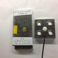 1500ML H 4 Heads Ultrasonic Mist Maker Fogger Humidifier Greenhouse Aeromist Hydroponics