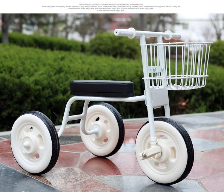 Simplee tricycle enfant avec guidon arrière réglable, pratique bébé vélo enfant marcheur avec cadre en acier l enfants marcheur voiture - 6