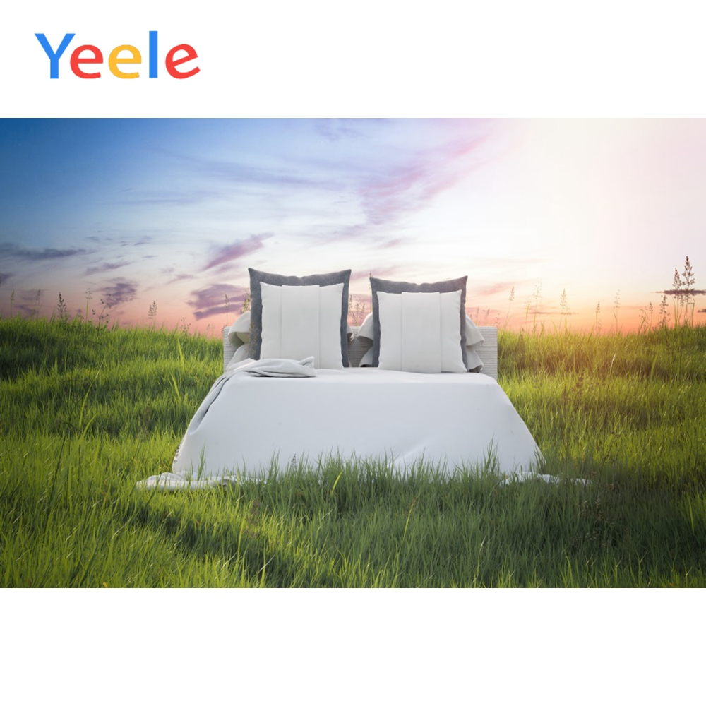 Yeele Outdoor Portray Double Bed Natural Scene Props Portrait Background Wall Photography Photographic Backdrop For Photo Studio