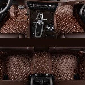 Image 2 - kalaisike Custom car floor mats for Hyundai All Models terracan accent azera lantra elantra tucson iX25 i30 iX35 Sonata
