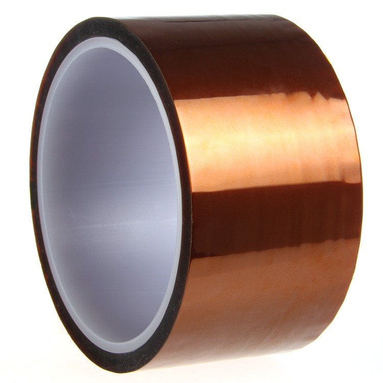 250mm x 33m/100ft Heat Resistant High Temperature Polyimide Adhesive Tape high temperature heat resistant polyimide adhesive tape 65mm x 30m 260 300 degree new for electronics industry