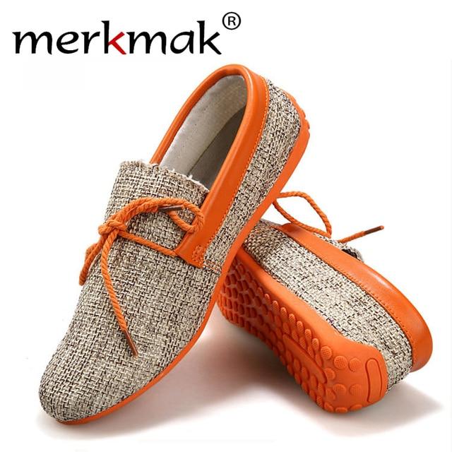 Горячие Продажа Новые 2016 Мужская Мода Летние Туфли Дышащий Ткачество Обувь Мужская шнуровке Квартира Дом Повседневный Легкий Удобный Вождения мокасины