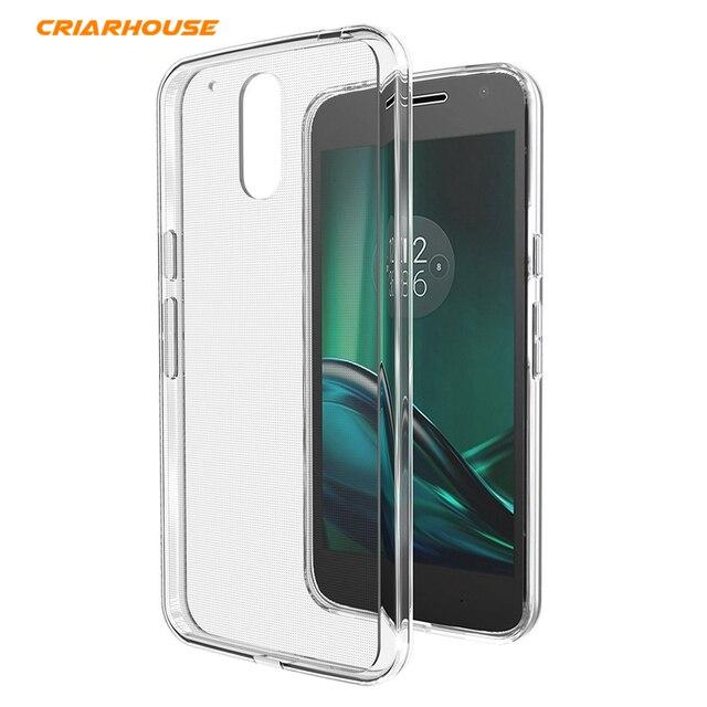 Cas De Gel Transparent Pour Motorola Moto G4 (plus) WQ5YXxPiXM