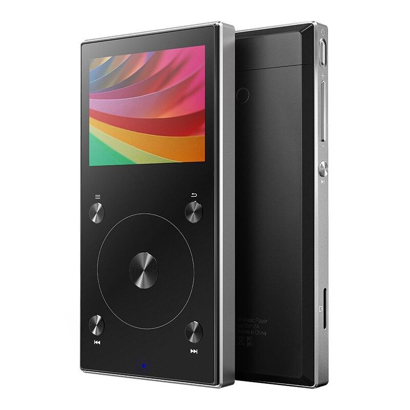 Originale FIIO X3 Mark III Hi-Res Audio Bilanciato Bluetooth 4.1 Portatile Hi-Res Musica HIFI FEBBRE DSD Lettore MP3 e FIIO Accessori