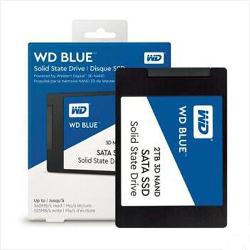 Disque dur WD SSD Sata3 250 GB/500 GB/1 to/2 to disque solide interne SSD 250 GB 500 GB 1 to Disco Duro Interno disque dur