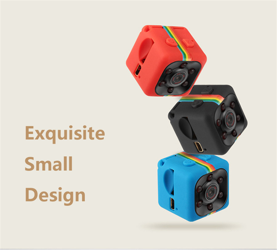HD 1080P MINI Camera Cam SQ11 Night Vision Sport Camcorder Video Voice Recorder Espia Nanny DV Secret Pinhole Digital Helmet