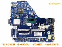 Original for ACER E1 572G laptop motherboard E1 572G I7 4500U V5WE2 LA 9531P tested good free shipping