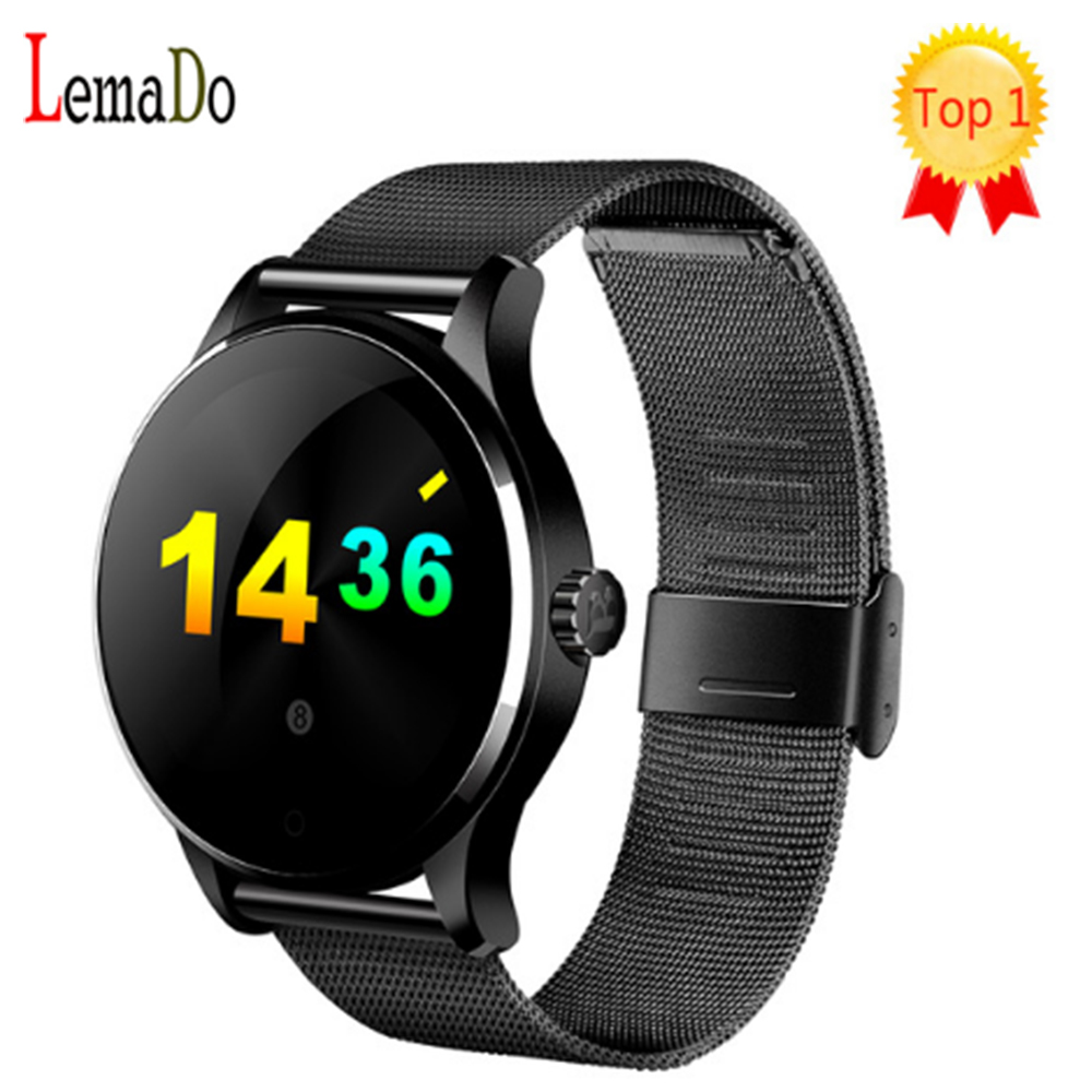 Original K88H MTK2502 Heart Rate Monitor Bluetooth Smart Watch Call/SMS Reminder