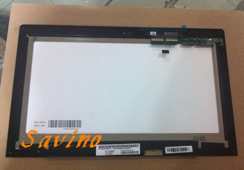 11.6 For Lenovo IdeaPad Yoga 2 11 20332/20428 Assembly LCD Screen Display+Touch Digitizer with Bezel LP116WH6 SPA1 free shipping 11 6 for lenovo ideapad yoga 2 11 20332 20428 full lcd screen display panel touch digitizer glass assembly