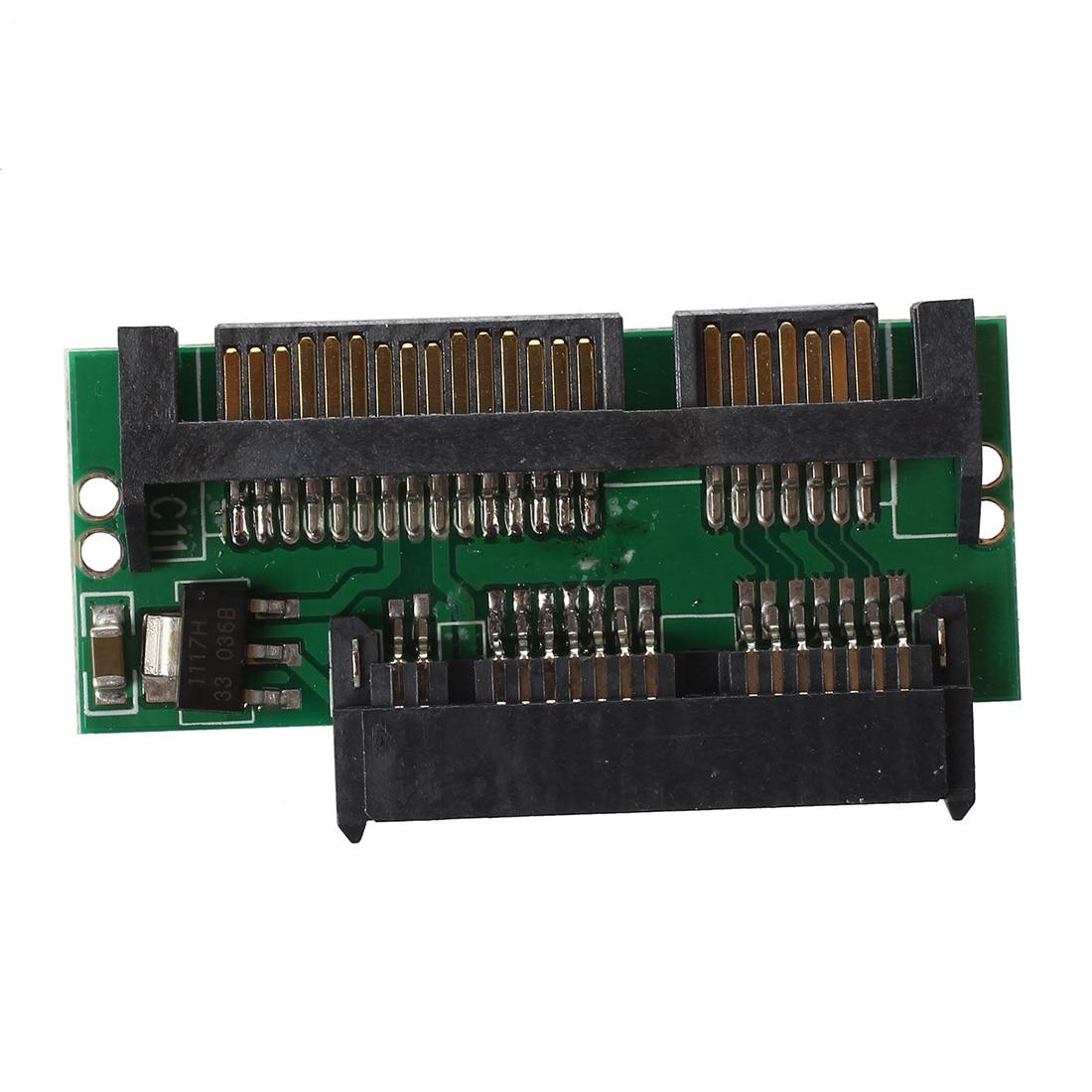 """1,8 """"mini Micro Sata Msata Zu 7 + 15 2,5"""" Sata Adapter Konverter Karte Feines Handwerk"""