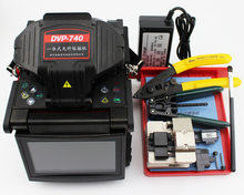 DVP740 Multilanguage Optical Fiber Fusion Splicer Fiber Optic Splicing Machine DVP-740(China)
