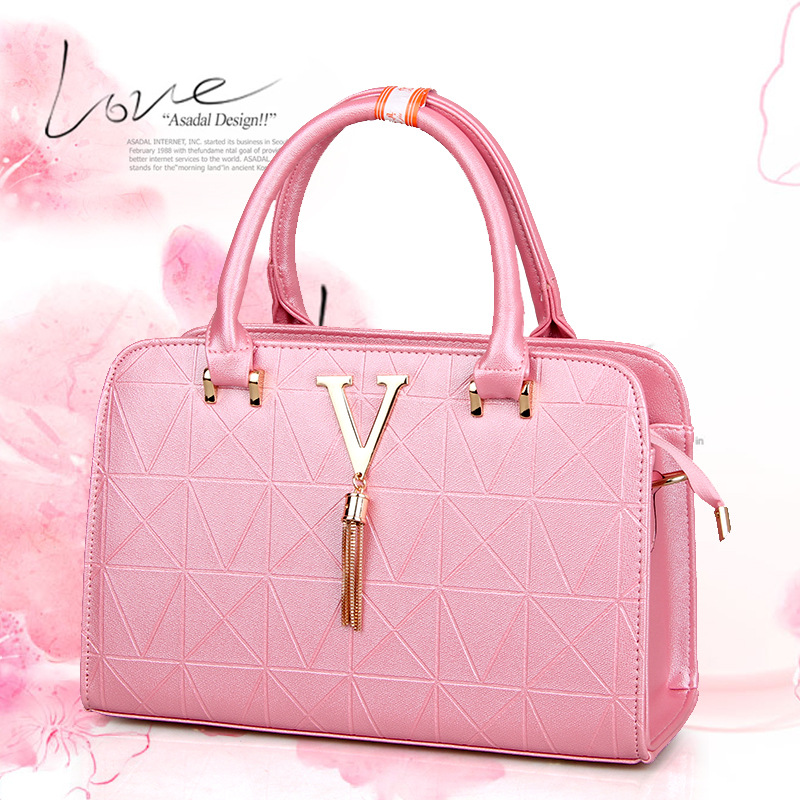 08ce206d087 2018 New Fashion Leather Bag Hand Bag Ladies Tote Shoulder Bag Handbags  Women Famous Brands Bag PU Chain Square Package Totes