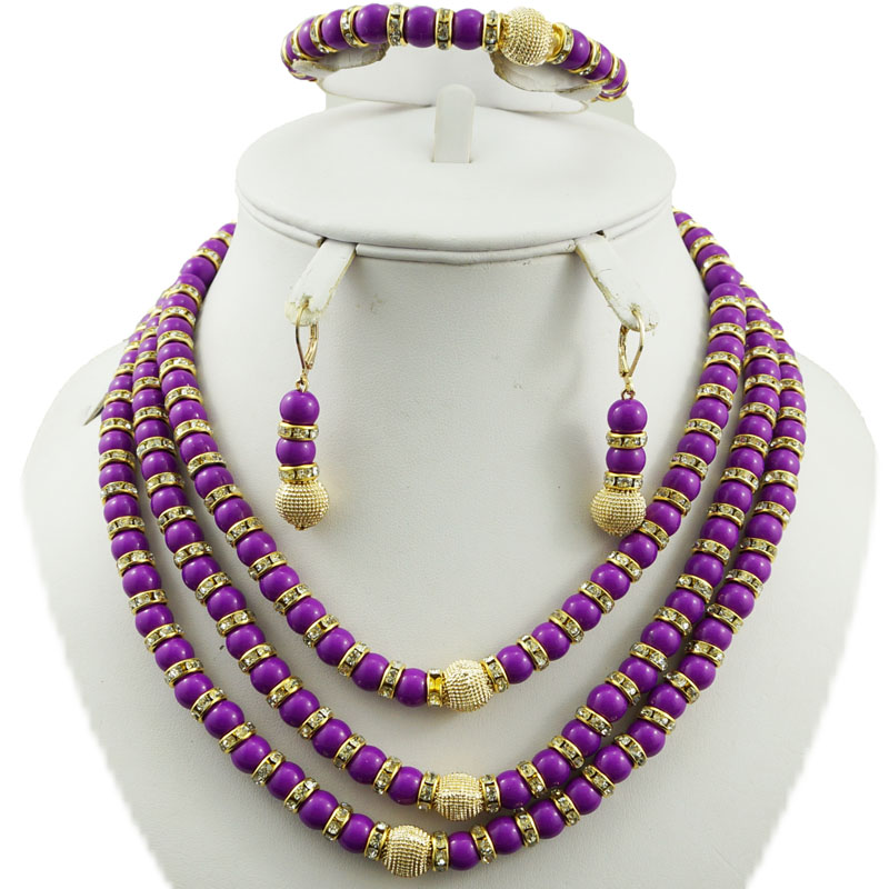 Ожерелье с серебрянном покрытии наборы Африканский большой набор украшений белый цвет набор бижутерии с розой женское ожерелье белые африканские бусы комплект ювелирных изделий
