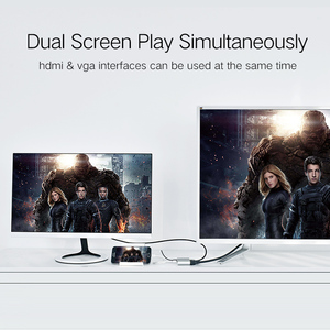 Image 4 - Ugreen 3 en 1 USB vers HDMI VGA + convertisseur Audio vidéo adaptateur AV numérique pour iPhone 6S Plus Ipad Samsung iOS Android