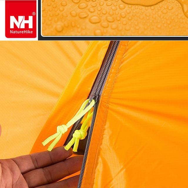 Camping Tent NATUREHIKE ultralight tent 1 person outdoor trekking hiking waterproof tourist tents Single carpas barraca tenda NH