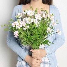 Xuanxiaotong Large 50cm Chrysanthemum Artificial Flowers Bouquet for Home DIY Decor Wedding Decoration