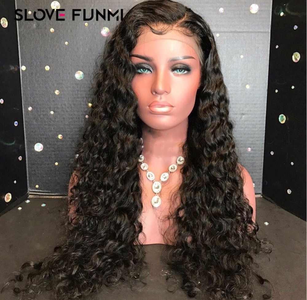 Кудрявые Парики из натуральных волос на фронте шнурка для черных женщин бразильский короткий кружевно парик с волосами Реми фронтальный сорвал полный конец может сделать 360 круг булочка