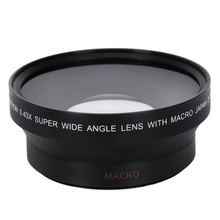 67MM 0.43X Wide Angle Macro Lens with Macro for Nikon D200 D100 D2H D80 D50 D70 D70S D90 Canon 550D 600D 650D 1100D 5DII 7DII professional 67mm 0 45x wide angle lens with macro suit for canon nikon sony camera with lens wrist strap