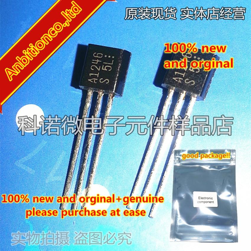10pcs 100% New And Orginal 2SA1246 A1246 TO-92 High-VEBO,AF Amp Applications In Stock