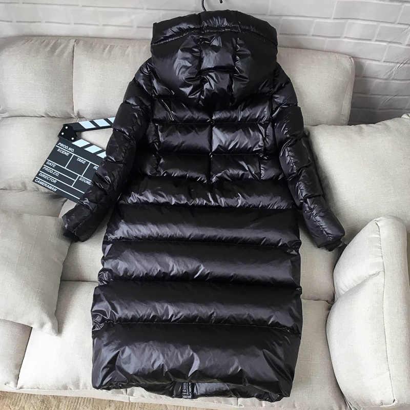 Tcyeek Winter Jacket Vrouwen Down Jas Vrouwelijke Dikke 90% Witte Eend Donsjack Vrouwen Lange Jassen Warm Hooded Kleding 2019 LWL1040