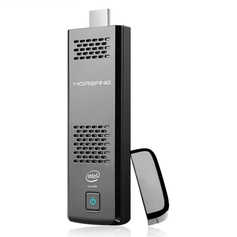 ALLOYSEED Z8350 Quad-Core 4 RAM+64GB ROM Mini PC Computer Host Intel Dual-frequency Wifi Signals Super Heat Dissipation