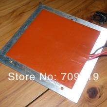 Горячая силиконовый нагреватель 12В@ 200 Вт, 200x200 мм