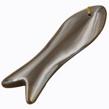 5A grade Si Bin Bian stone guasha tool stone massage guasha kit beauty face meridian scraper anti wrinkle health care