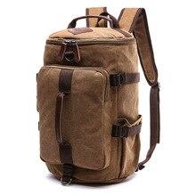 Vintage College School Backpack Bag Canvas Men Women 15.6 Inch Laptop Backpacks For Girls Male Travel Bagpack Hand Shoulder Bag цены
