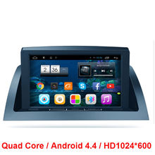 HD1024*600 Quad Core Android 4.4 CAR RADIO DVD GPS Player FOR Mercedes Benz C200 / W204  2005-2012 WIFI 3G Multimedia stereo mp3