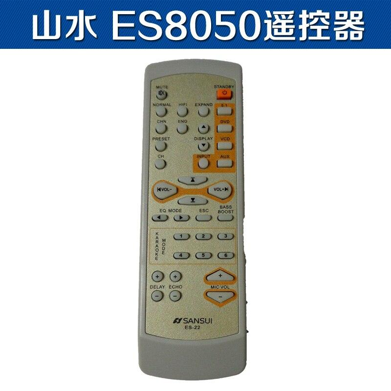 ORIGINAL REMOTE CONTROL ES-22 FIT FOR sansui AMPLIFIER ES8050 ES8050FD AV Receiver replace remote control rc 799m for av receiver remote for onkyo tx nr616 tx nr626 ht s5400 ht s5500 av receiver