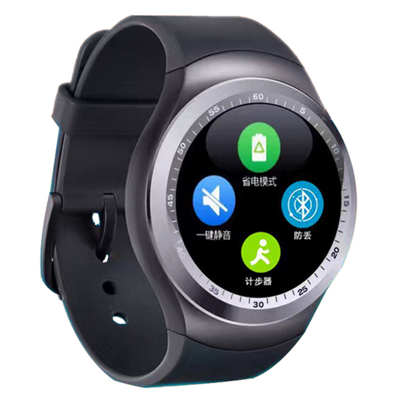 Nieuwe Plus Bluetooth Slimme Horloge Ondersteuning Sim Card Sync Notifier Smartwatch Voor Android Telefoon Qq Sport Stappenteller Handsfree Gps