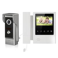 New 4.3 Screen Monitor Portable Handheld Video Intercom Door Phone System Waterproof Doorbell Camera Unlock Monitor Intercom