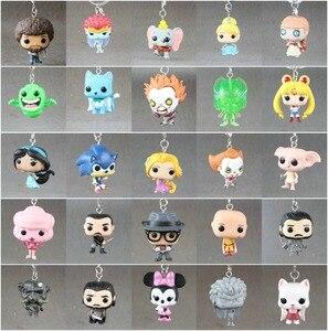New Pop Toys Keychain Loki /Spider/ Deadpool/ Ironman/ Arrow no box 1 pcs(China)
