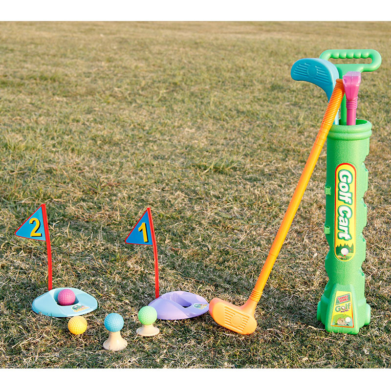 14pcs childrens Golf toy set exercise device for outdoor childrens leisure outdoor toy physical exercise childrens gifts