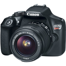 Canon 1300D / Rebel T6 DSLR Camera with 18-55mm Lens 18MP 1080p Video WiFi