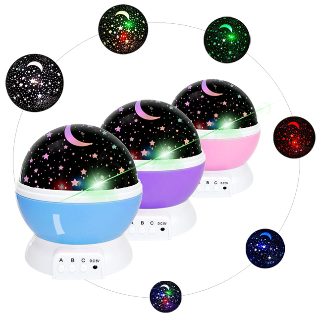 Premium Stars Starry Sky Projector Moon Novelty Table Night Lamp For Children