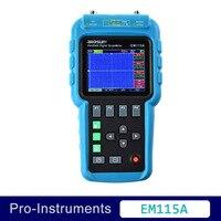 EM115A Tutti Sole 2 in1 Multifunzionale Strumento Didattico Mini Oscilloscopio 50 MHz Multimetro Palmare Scopemeter Ohmmetro Capacità