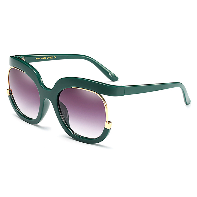 45cf5c18668c Mincl Fashion big frame women sunglasses personality sexy sunscreen glasses  trend wide face ladies decorative