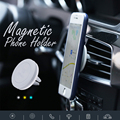 REMAX NEW Air Vent Holder Magnetic Phone Holder Round Auto Magnet Car Mount Support for Mobile Smartphone GSP Stand Bracket