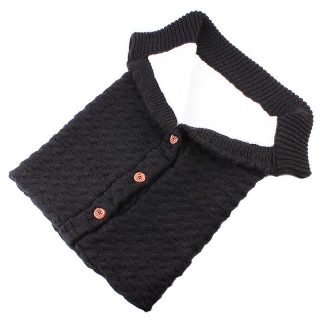 Puseky Baby Sleeping Bags Cotton Knitting Envelope for Newborn footmuff for stroller sleeping para bebek winter 2018 3