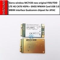 Sierra Wireless MC7430 neue original FDD/TDD LTE 4g CAT6 HSPA + GNSS Wwan karte USB 3.0 MBIM interface gualcomm chipset für APAC|usb lte|4g lte usbusb 4g lte -