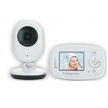 2.4 Inci Digital Video Wireless Baby dengan Kamera Baba Keamanan Elektronik 2 Berbicara Nigh Vision IR LED Suhu