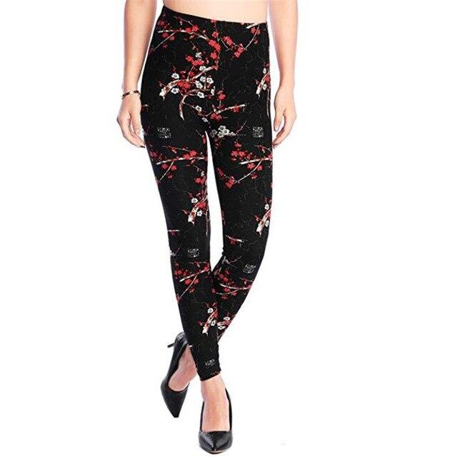Rose Flower Printed Legging 4