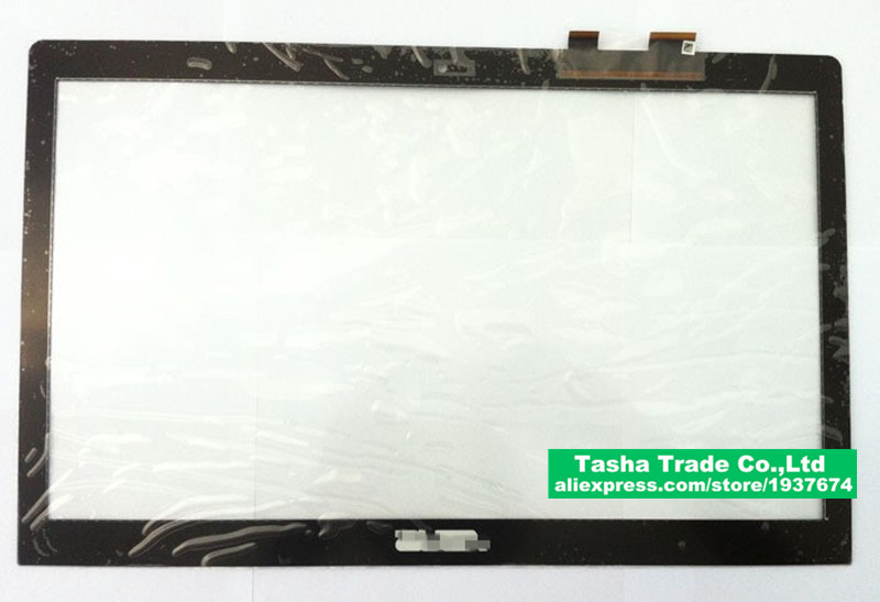 15.6  Touchscreen for ASUS S550 S550C Touch Screen Panel Digitizer Glass with frame  Replacement shipping free 5345S FPC-1 free shipping car refitting dvd frame dvd panel dash kit fascia radio frame audio frame for 2012 kia k3 2din chinese ca1016